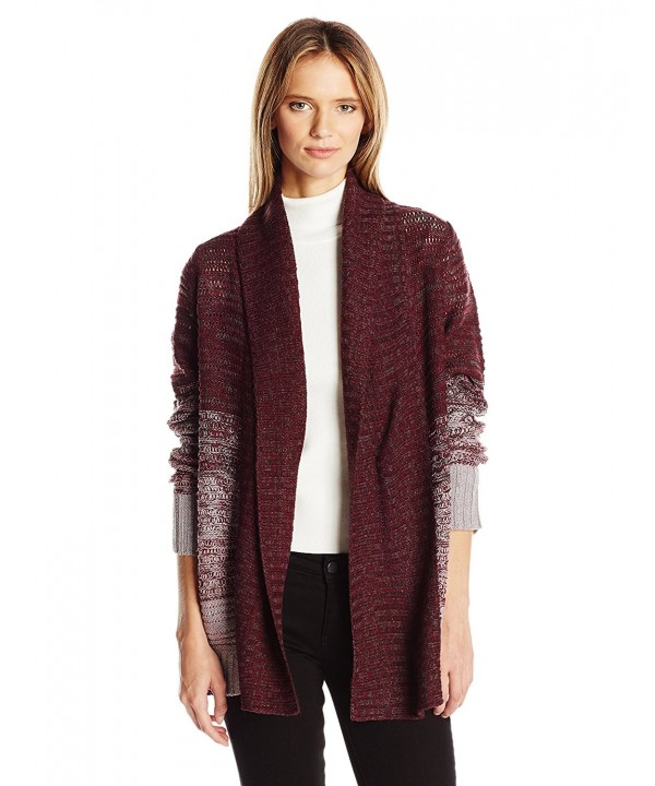 Jason Maxwell Womens Sleeve Cardigan
