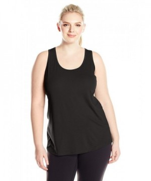 Lucy Womens Workout Racerback Black