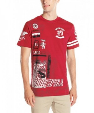 Southpole Short Sleeve Patch Graphics
