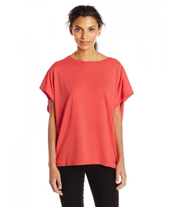 Bench Womens Striped Active Paprika