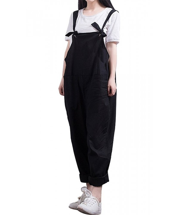 IDEALSANXUN Womens Overalls Jumpsuits Medium