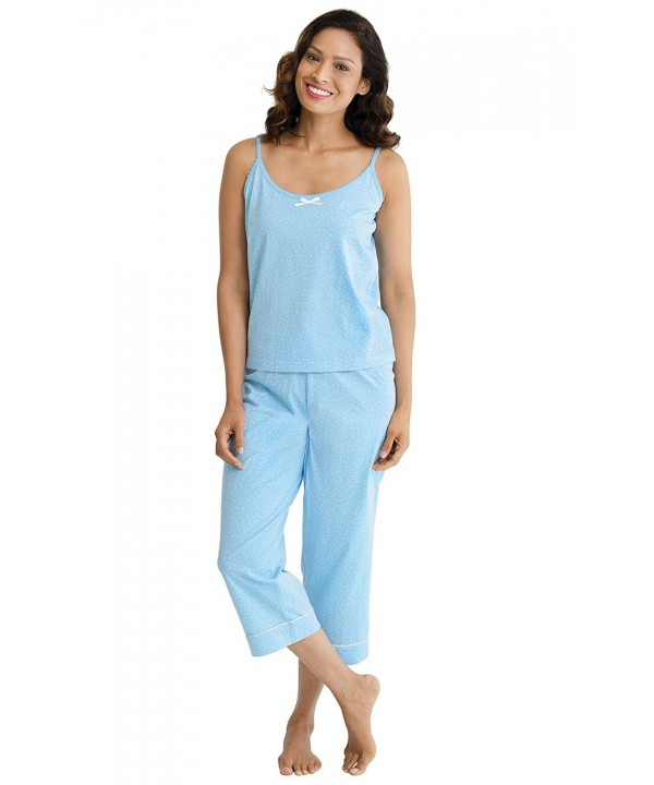 PajamaGram Womens Oh So Soft Polka Pajamas