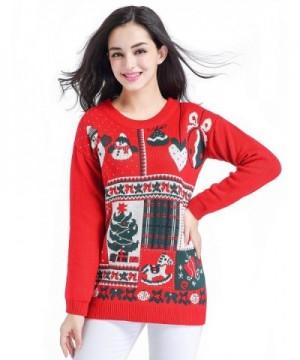 Christmas Sweater Ladies Vintage Celebrate