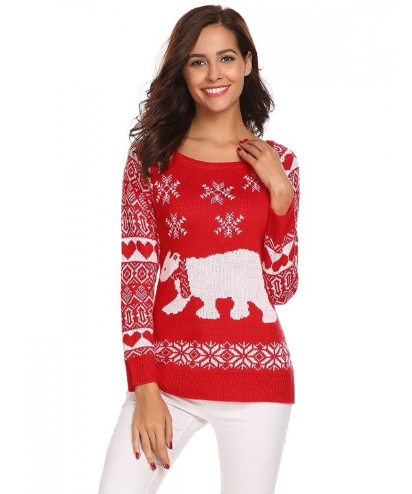 SummerRio Christmas Holiday Printed Crewneck