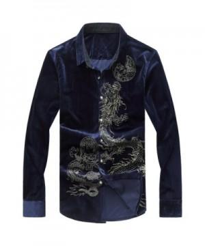 UNINUKOO Casual Sleeve Velvet Shirt