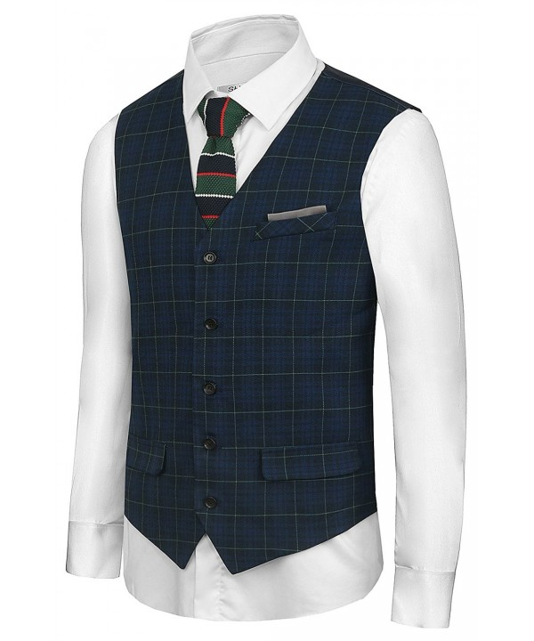 Hanayome British Business Waistcoat VS08lack