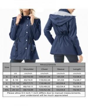 8f3cde6a9 Women's Clothing Snow & Rainwear Raincoats Waterproof Lightweight Rain  Jacket Active Outdoor Hooded Womens Trench Coats