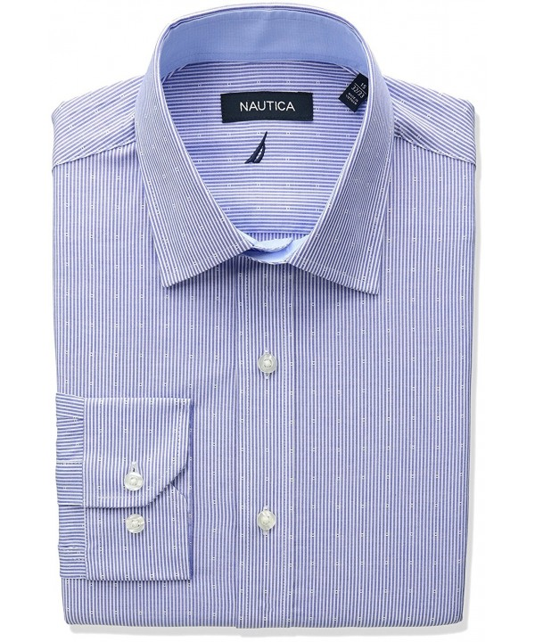Nautica Regular Stripe Dobby Sleeve