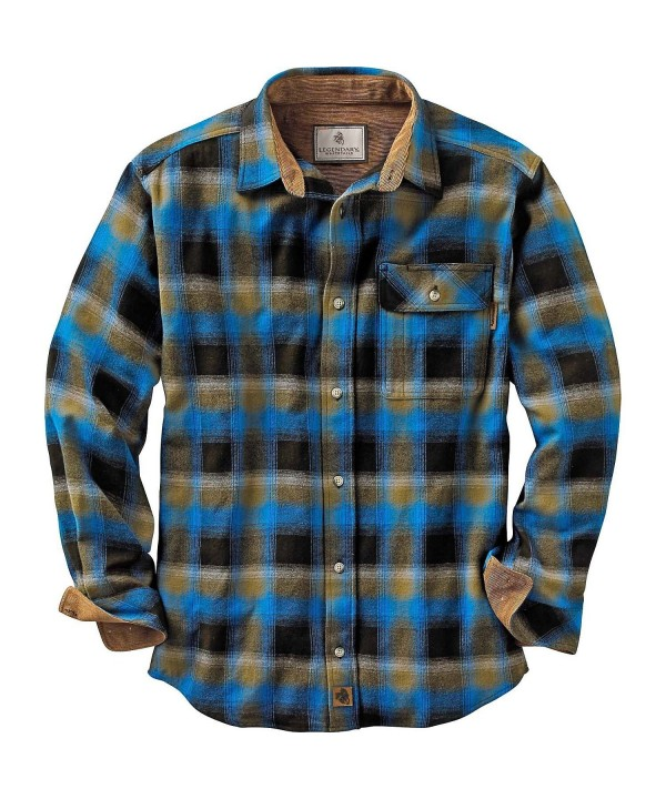 Legendary Whitetails Flannels Cobalt Plaid
