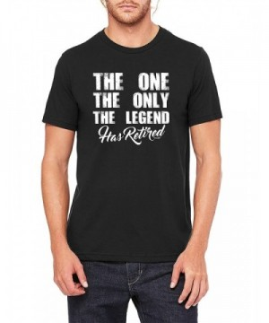 owndis Legend Retired Retirement TEE 0079 3XL Black
