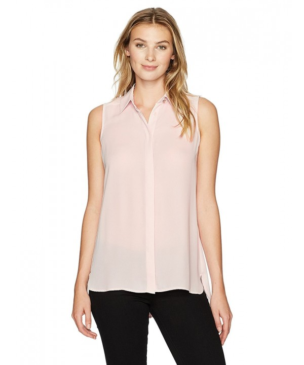 Ivanka Trump Womens Sleeveless Blouse