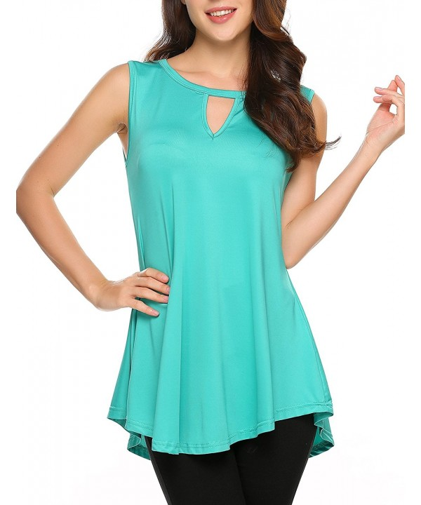 Women Solid Basic Summer Sleeveless