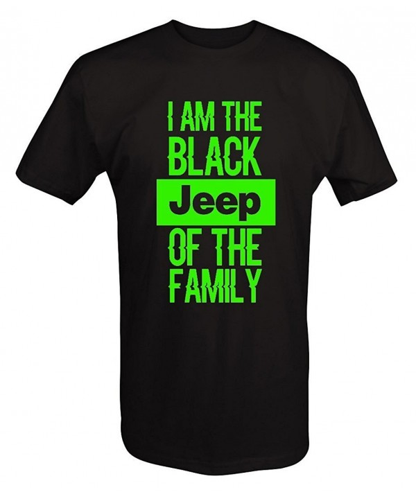 LIME Black Jeep Family shirt Xlarge