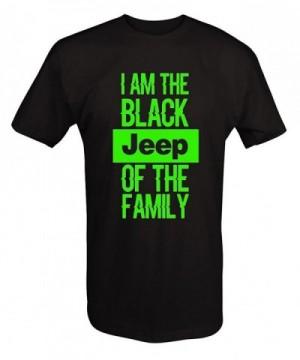 LIME Black Jeep Family shirt Xlarge