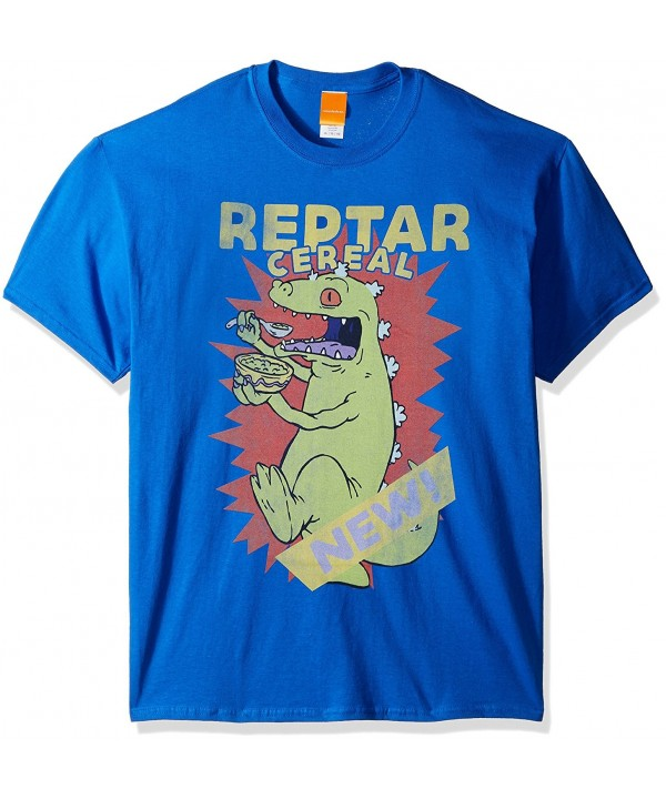 Nickelodeon Reptar Cereal T Shirt Royal