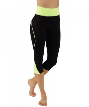 Pro Fit Body Shaping Leggings PF123 Yellow