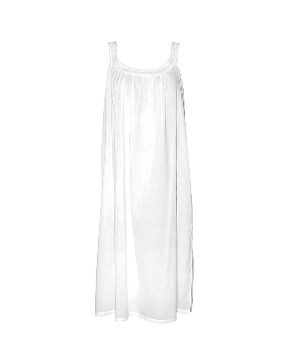 Irish Linen Store Nightgown White