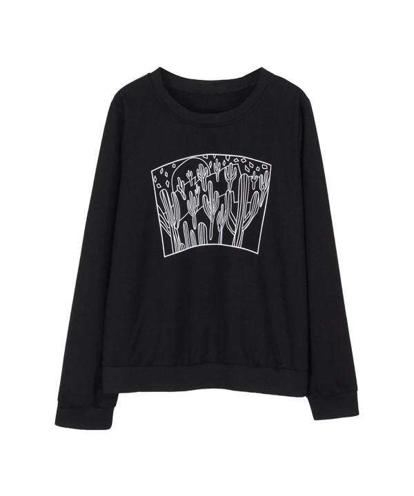 Focal20 Cactus Sweatshirt Sleeve Pullover