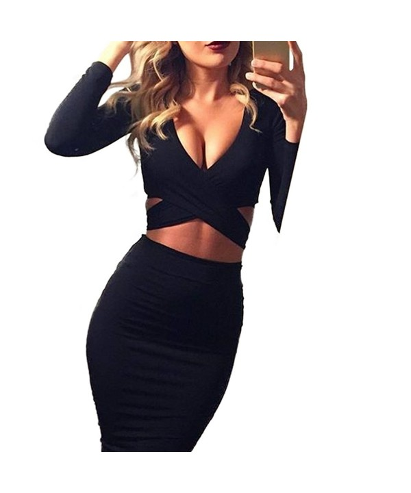 Memorose Cut Out Bandage Bodycon Clubwear