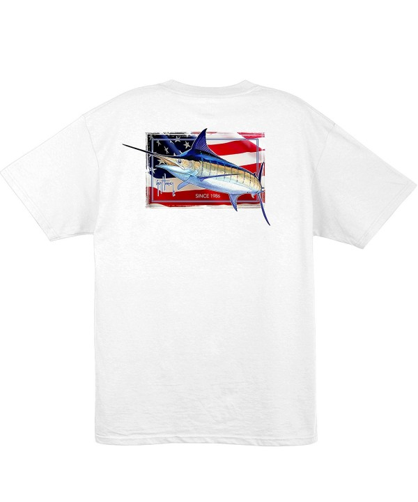 Guy Harvey Black Pocket T shirt