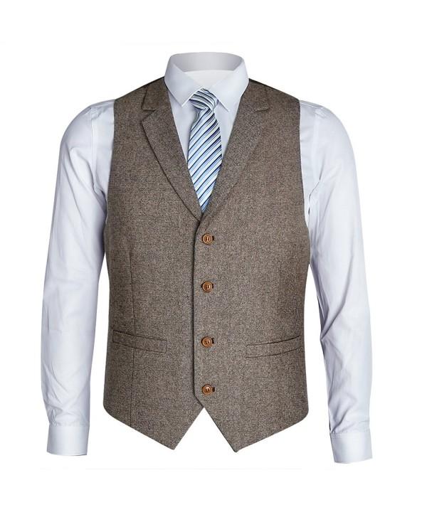 Zicac Notch Casual Modern Waistcoat