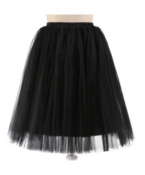 NUOMIQI Womens Length Layered Tulle