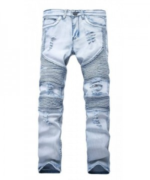 NITAGUT Ripped Destroyed Distressed Jeans