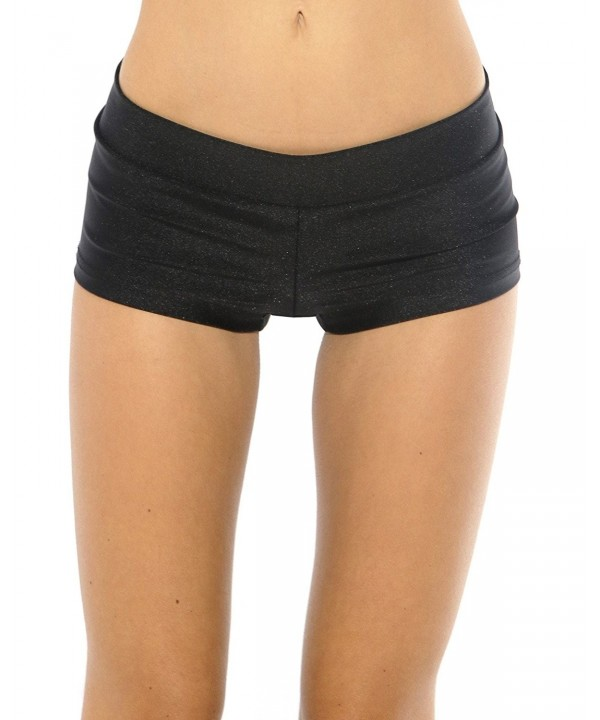 iHeartRaves Solid Booty Shorts Small