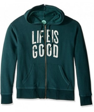 Life Hoodie Balsam Green Small