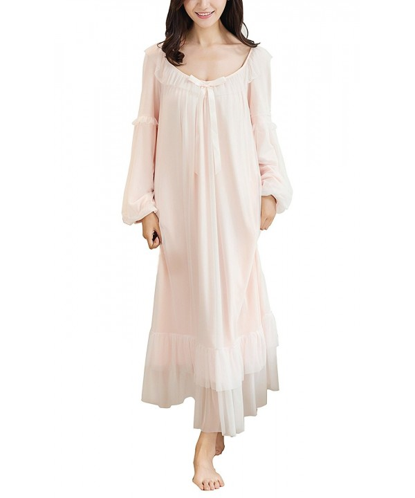 Camellia12 Victorian Nightgown Wedding Sleepwear