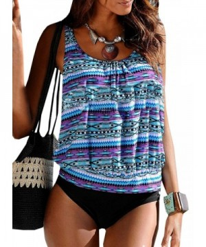 Sherrylily Multicolor Sleeveless Swimsuit Stretchy
