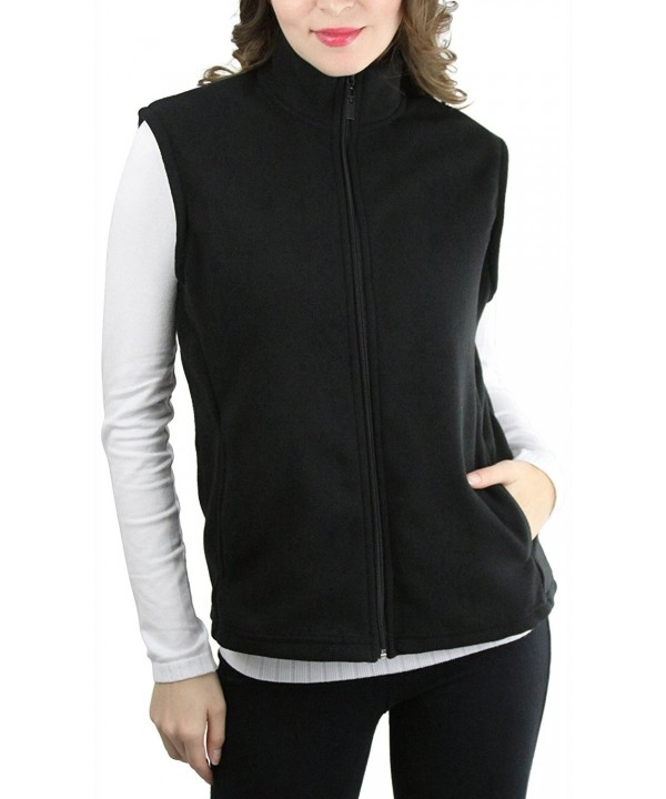 ToBeInStyle Womens Sleeveless Polar Fleece
