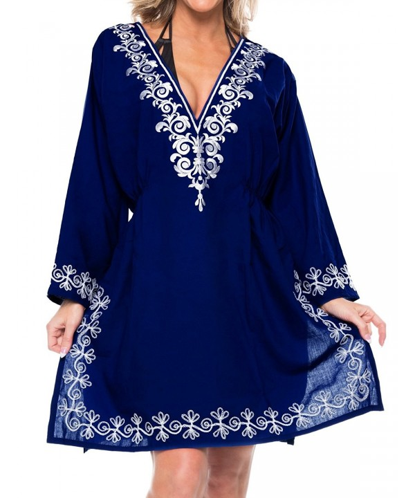 cd3160b762b5 Leela Womens Elasticated Embroidered Swimwear. . Leela Womens Elasticated Embroidered  Swimwear; Cheap Real Women's Swimsuit Cover Ups Wholesale ...