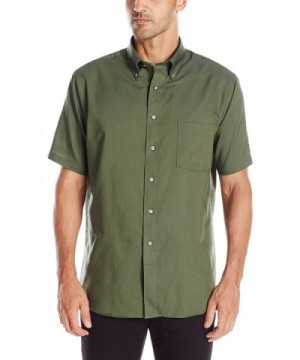 Van Heusen Short Sleeve Wrinkle Resistant Oxford