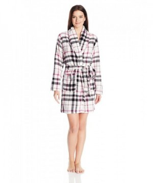 Totally Pink Womens Plush Robes