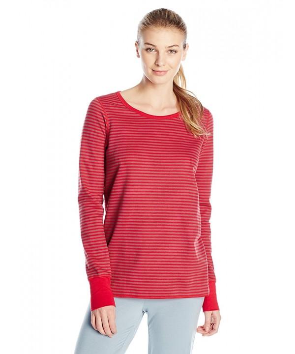 Sleepwear Womens Sleeve Reversible Stripe