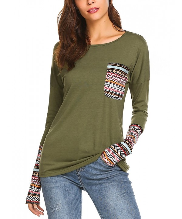 Beyove Womens Crewneck Sleeve Sweatshirt