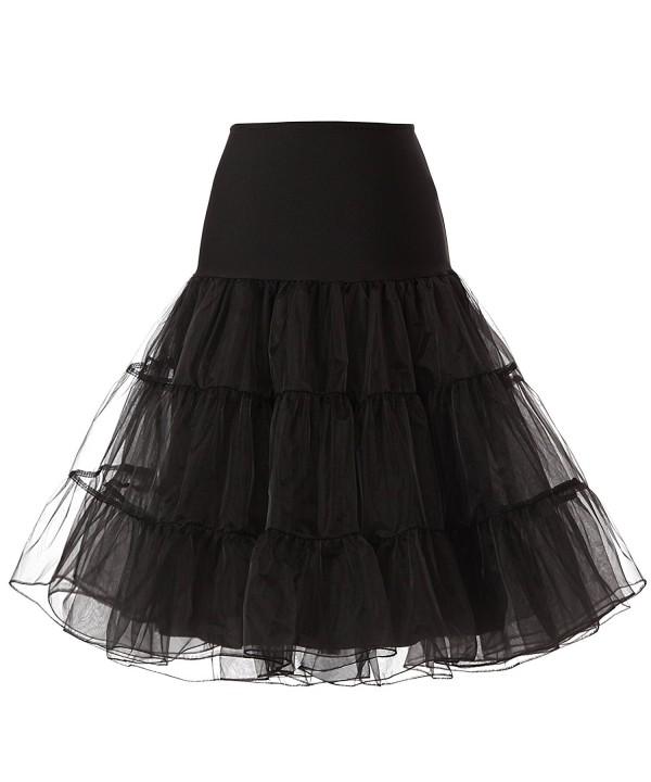 KissBridal Vintage Rockabilly Petticoat Underskirt