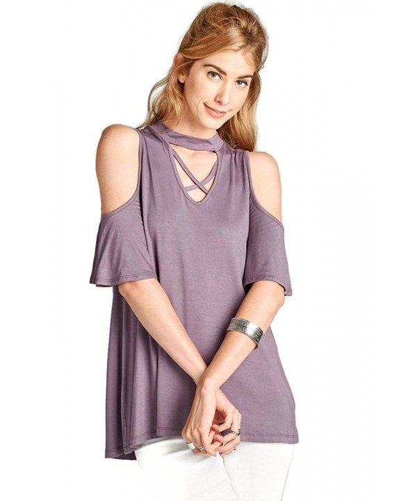 Oddi Womens Shoulder Sleeve Purple