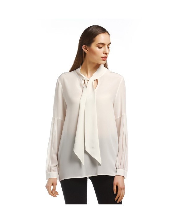 N C F Womens Patchwork Sleeve Blouse