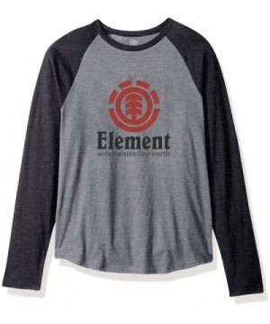 Element Raglan T Shirts Heather Charcoal