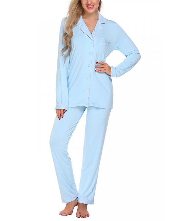 CNlinkco Sleeve Pajama Printed Sleepwear