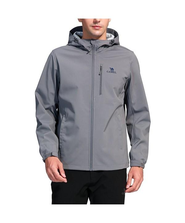 Camel Outdoor Softshell Jackets Windproof
