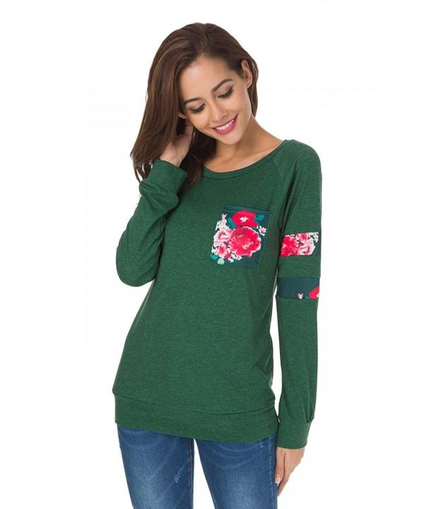 JomeDesign Womens Sleeve Crewneck Sweatshirt