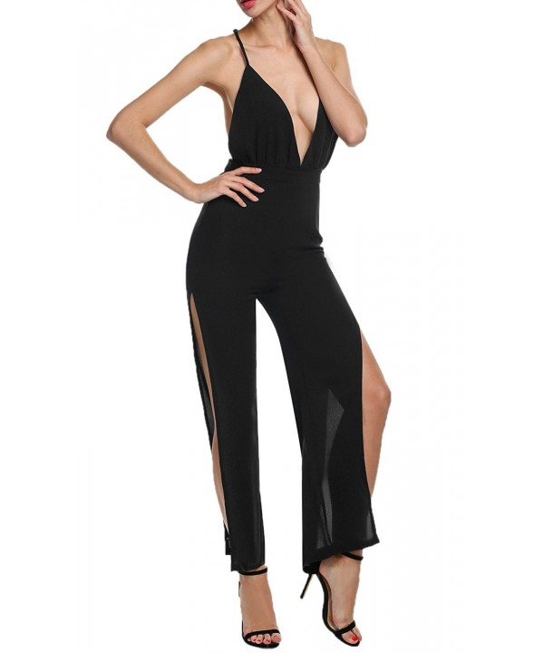 Zeagoo Womens Fashion Jumpsuits Rompers