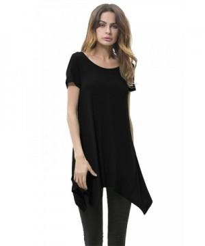 Solatin Womens Short Sleeve Solid