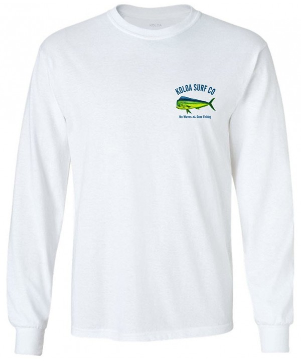 Joes USA Fishing Sleeve T Shirts White XLT
