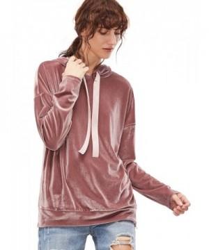 Verdusa Womens Simple Shoulder Sweatshirt