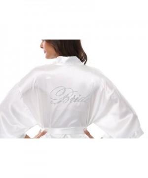 VogueBridal Womens Rhinestone Wedding Kimono