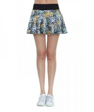 Cityoung Womens Printed Pleated Leopard
